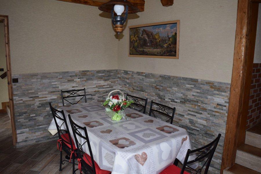Salle à manger chalet Aravis